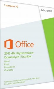 Microsoft MS Office 2013 Home and Student 1PC PL ESD wieczysta Word Excel