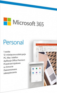 Microsoft MS Office 365 Personal 1 rok ESD